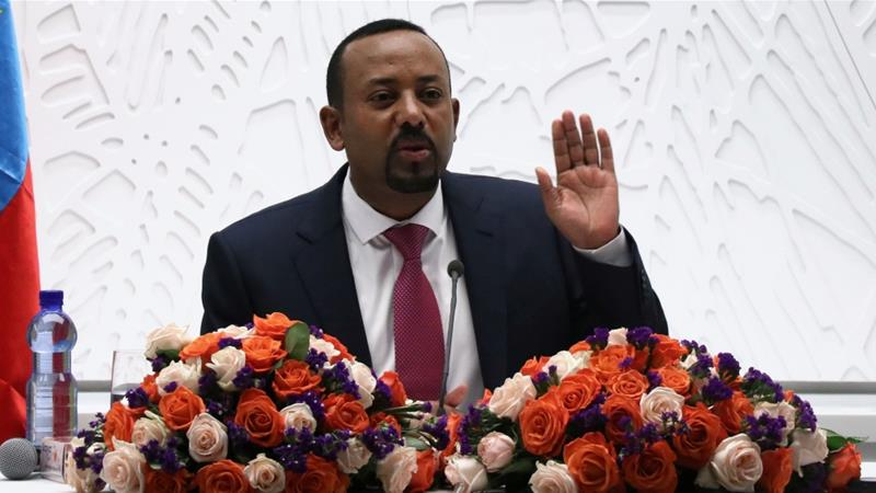 Ethiopia's prime minister holds talks with the ruling Transitional Military Council on Friday