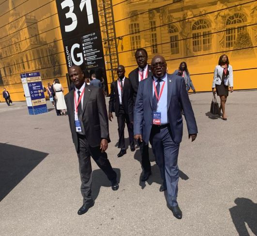 First Vice President of South Sudan H.E. Taban Deng