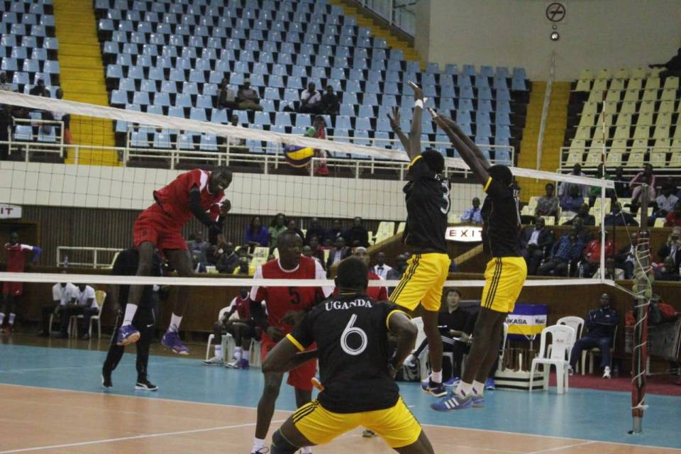 Uganda (Black and Yellow) has so far lost two games at the on-going qualifiers. (PHOTOS/AGENCY)