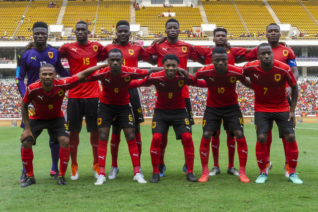 Angola have drawn both of their first two games at the 2019 AFCON. (PHOTOS/Agency)