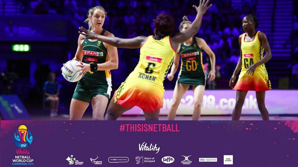 The She Cranes have now lost two games at the Netball World Cup 2019. (PHOTOS/Courtesy)