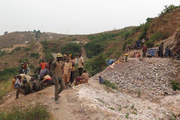 Mwerasandhu tin mines in Rwamwire Ruhaama, Ntungamo