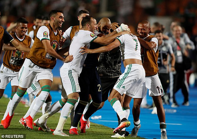This is Algeria's second AFCON title in history. (PHOTO/Courtesy)