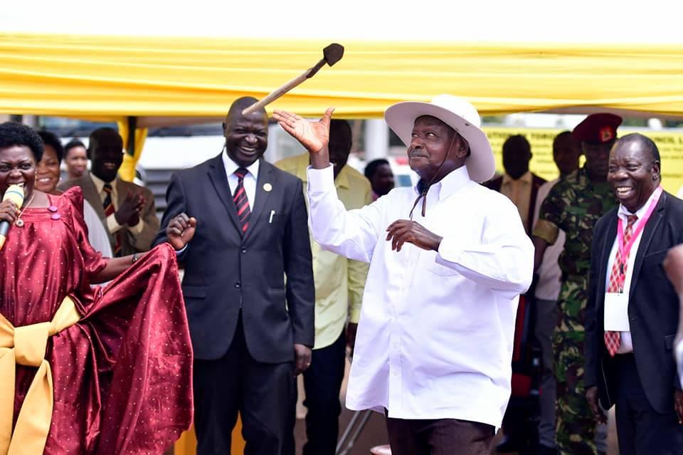 President Museveni in Tororo