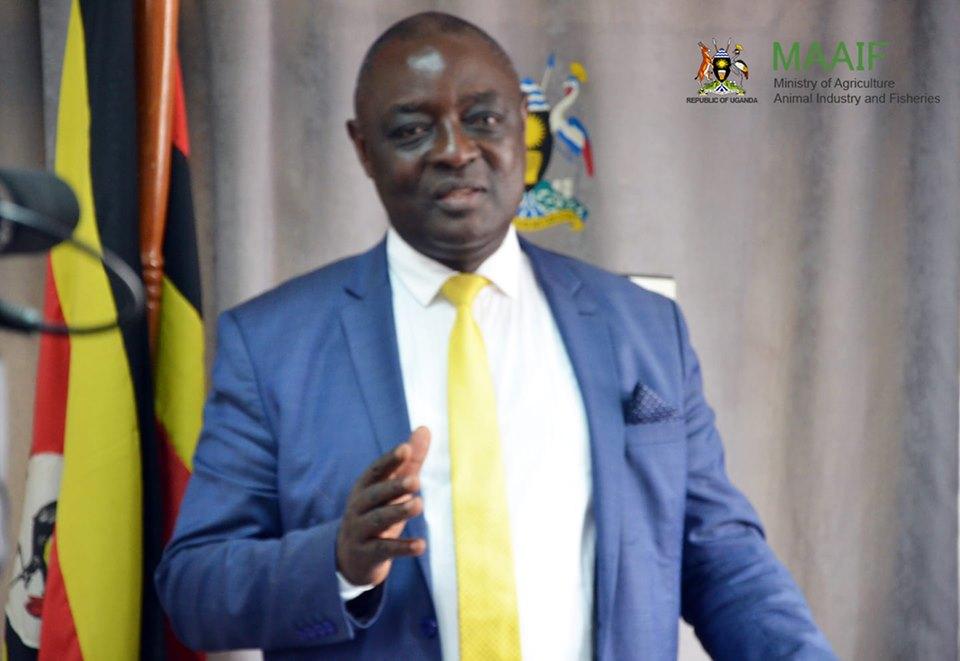 Agriculture Minister, Hon Vincent Bamulangaki Ssempijja, (PHOTO/File)