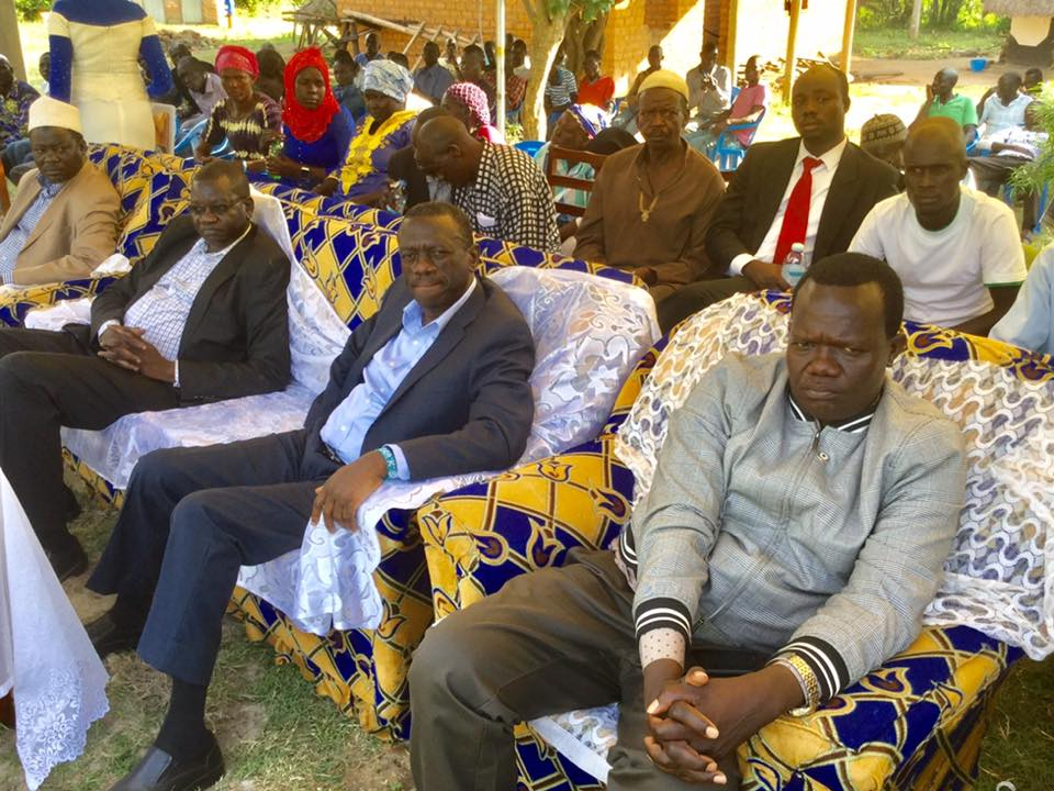 Former President Kizza Besigye, party boss Patrick Oboi Amuriat