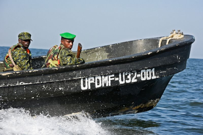 Fisheries Protection Forces are on the spot as legislators move to have them jailed for the torture of the fishermen. (PHOTO/File)