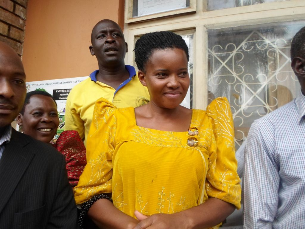 Hoima District Woman Member of Parliament (MP) Tophasi Kaahwa Byagira has opted for the newly created Kibuule district. (PHOTO/File)