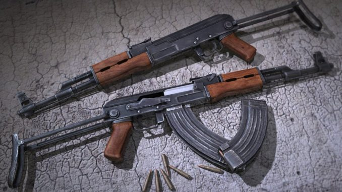 Two AK-47 rifles were uneathed in Ntinda. (PHOTO/File)