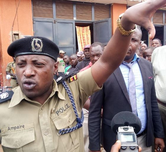 Kabale district Police Commander Brain Ampaire