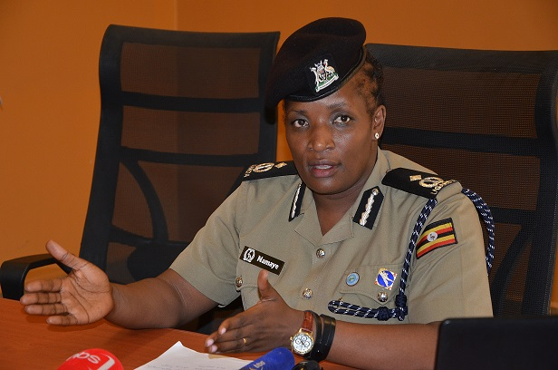 Deputy Police Spokesperson ACP Polly Namaye.