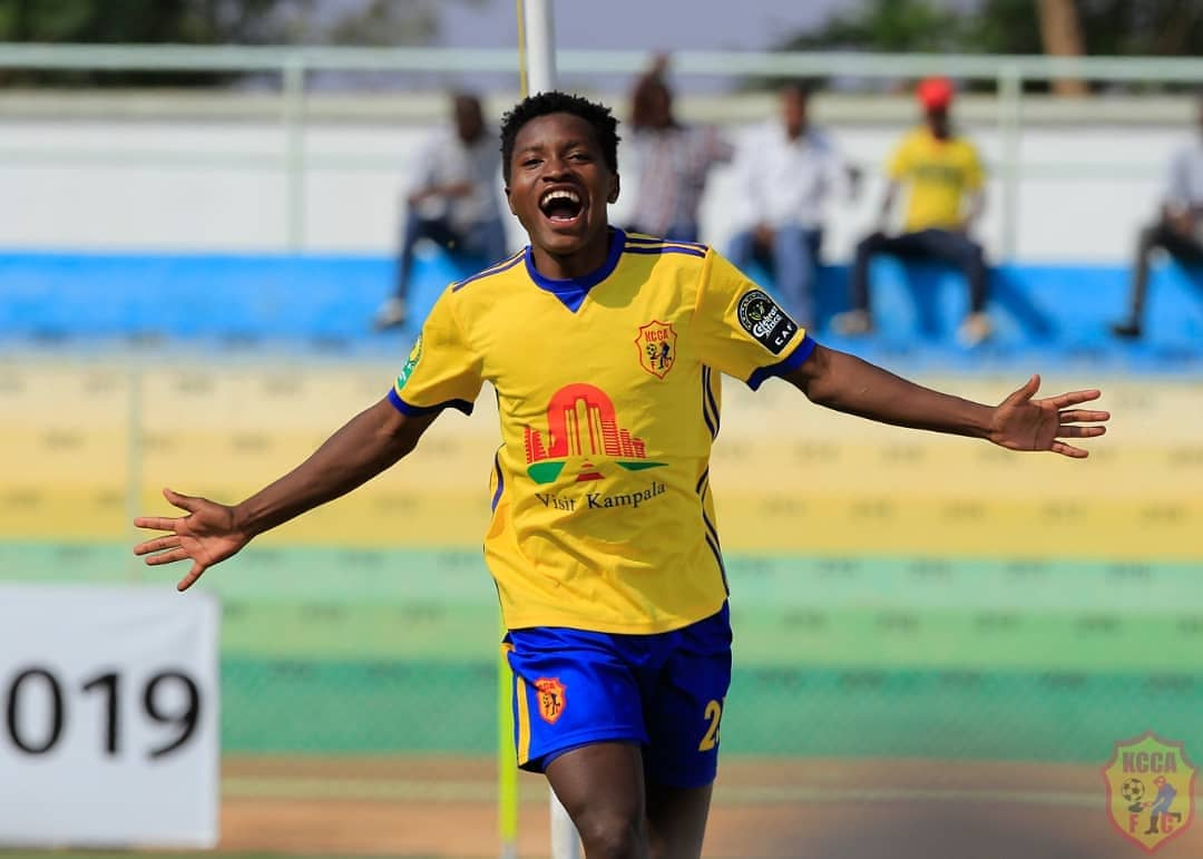 Okello scored twice and assisted another as KCCA reached the final on Friday.