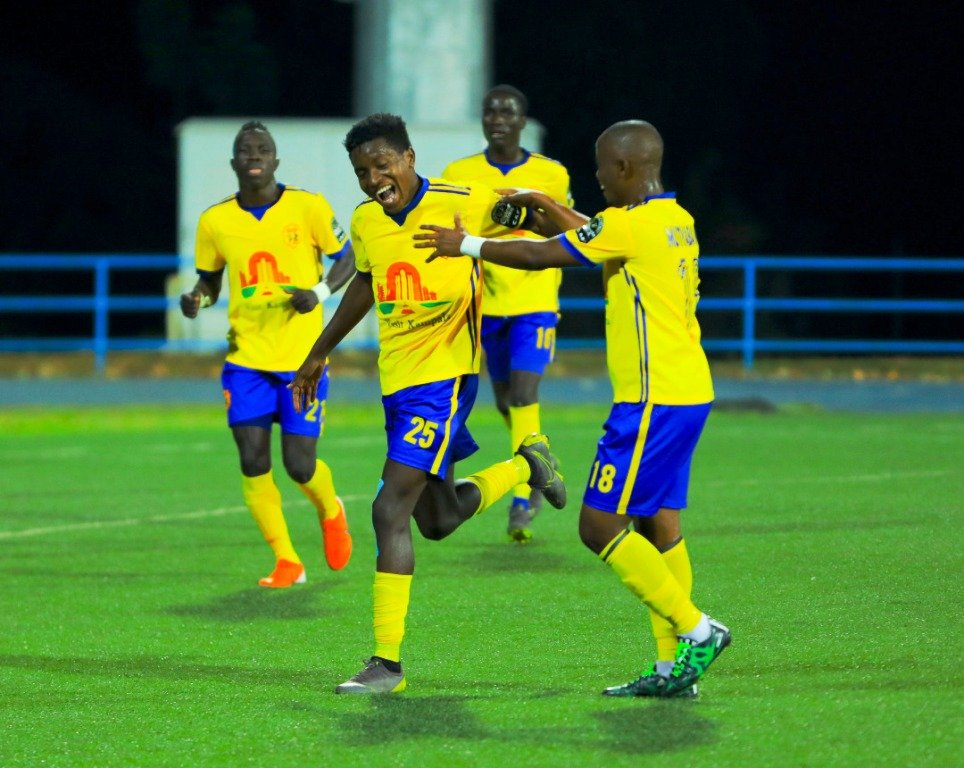 KCCA FC finished top of Group B.