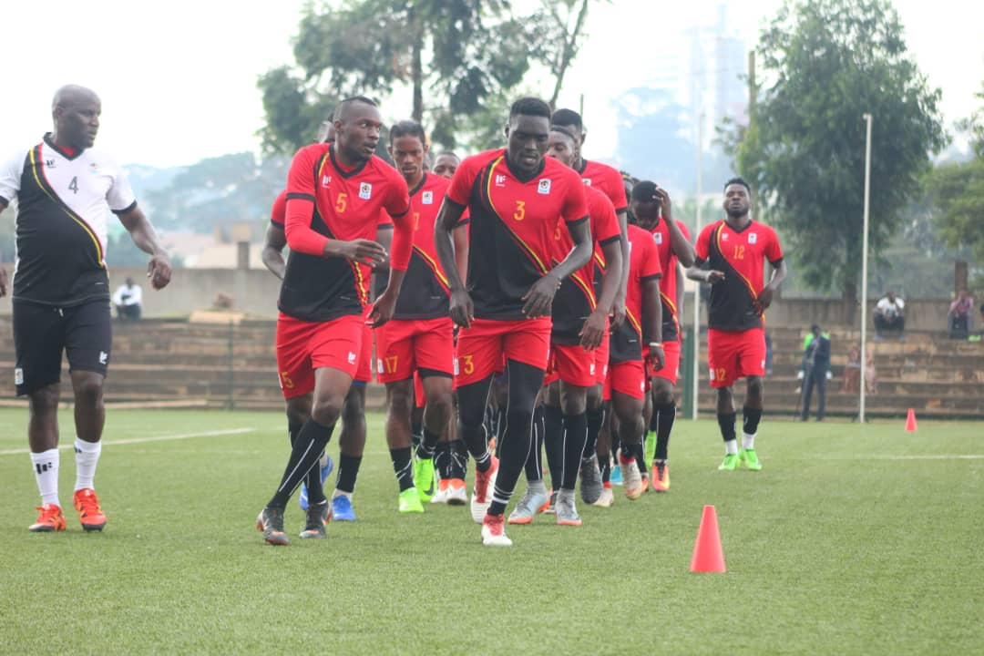 The Cranes have been training since Sunday. (PHOTOS/FUFA)