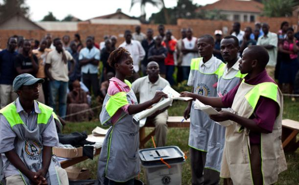 Polling officials attached to the Electoral Commission count votes in the recent General elections (PHOTO/File)