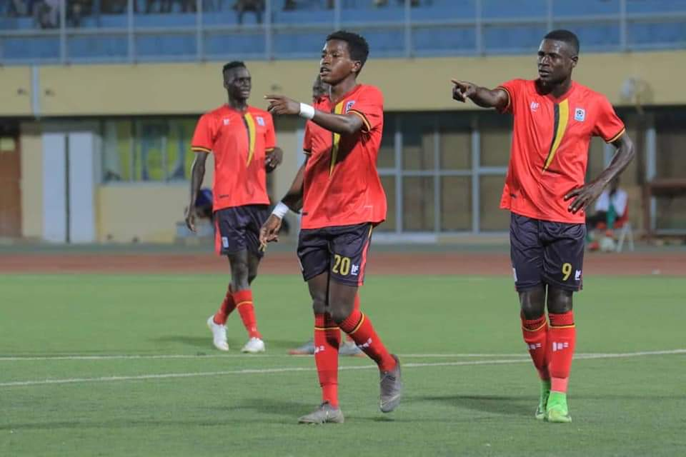 The Cranes defeat Somalia 3-1 in the first leg.