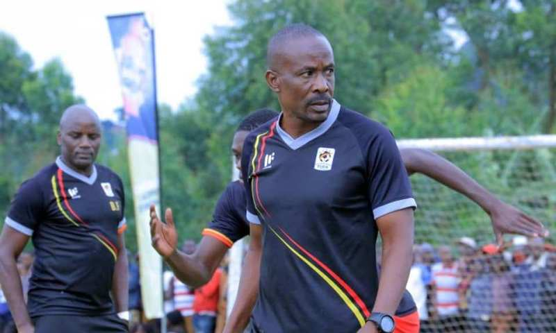 Mubiru was named Cranes interim coach on Wednesday. (PHOTOS/file)