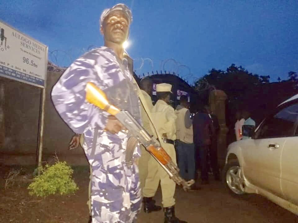 Police have raided Adjuman radio station for hosting FDC leaders. (PHOTO/Courtesy)