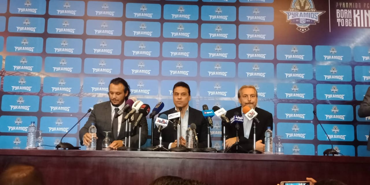 Desabre (right) was unveiled as Pyramids FC head coach this past Monday.