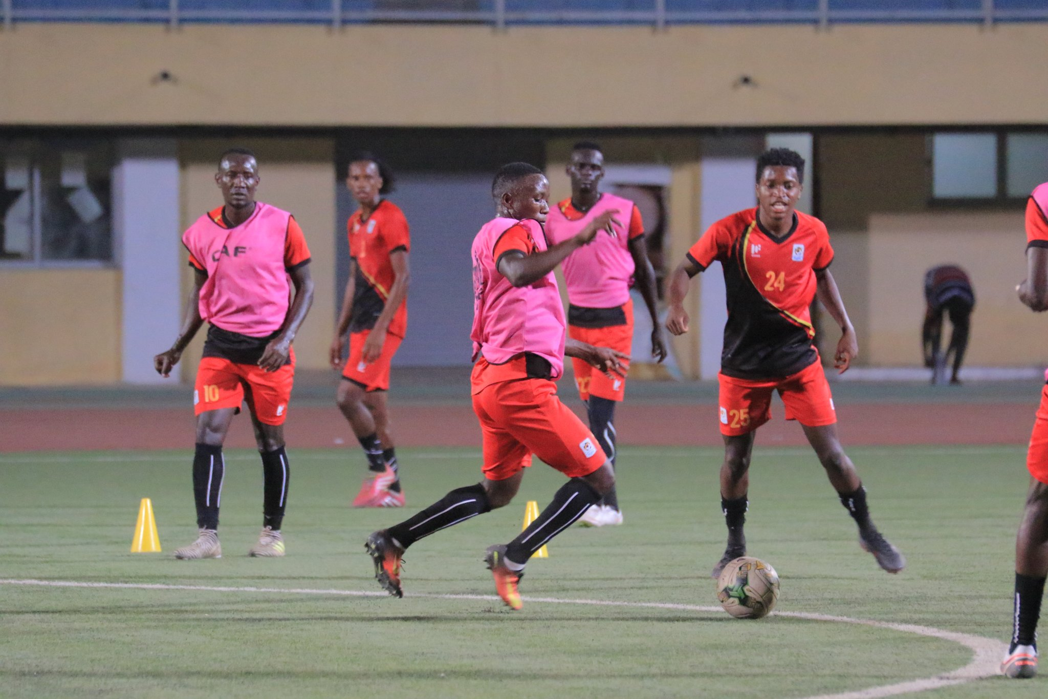 The Cranes return to training on Tuesday. (PHOTO/File)