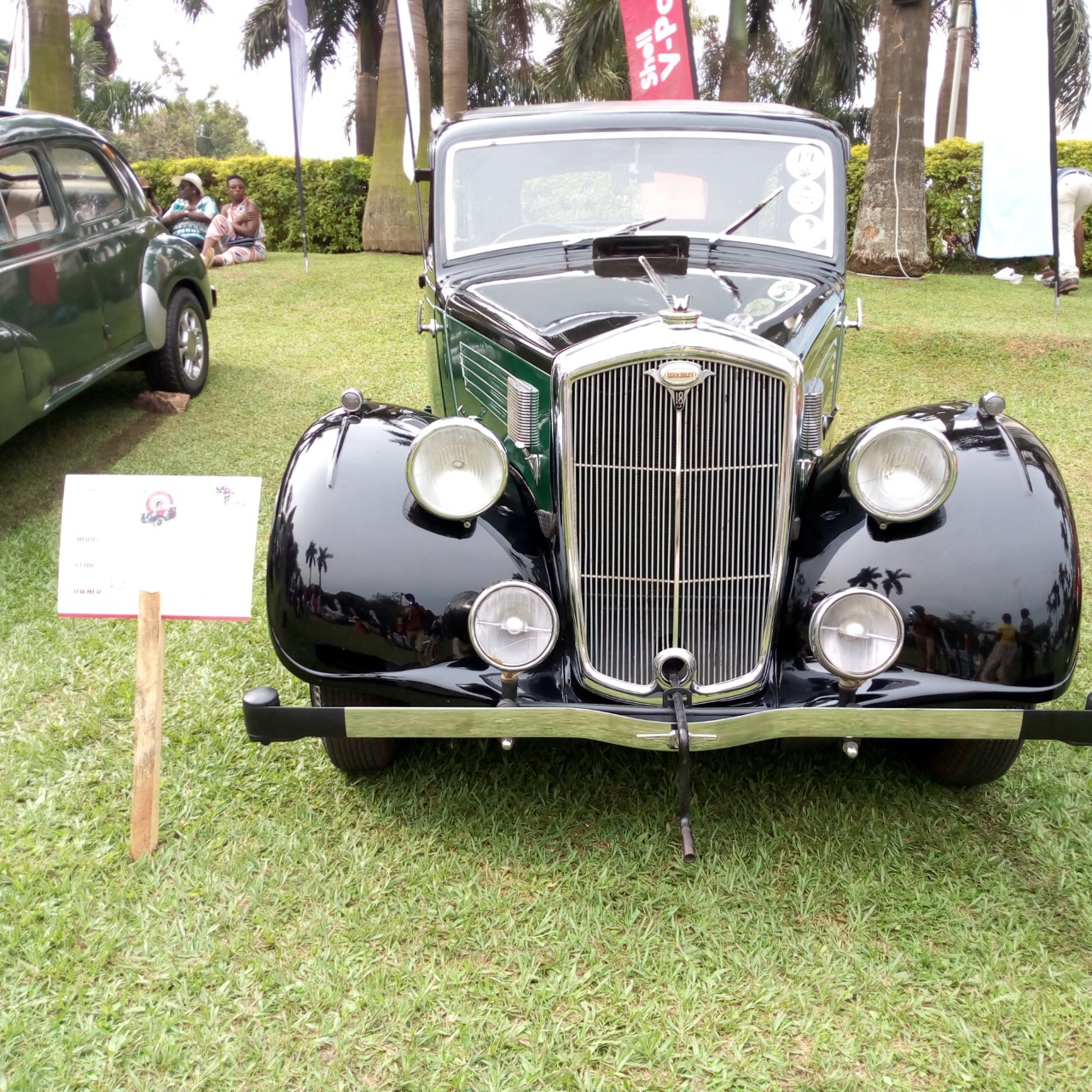 1937 Model  Hosley  owned by Kalvin Kaggwa  emerged as the overall winner at the 8th CBA Vintage Classic Auto show at Sheraton Hotel Gardens. (PHOTO/Abraham Mutalyebwa)