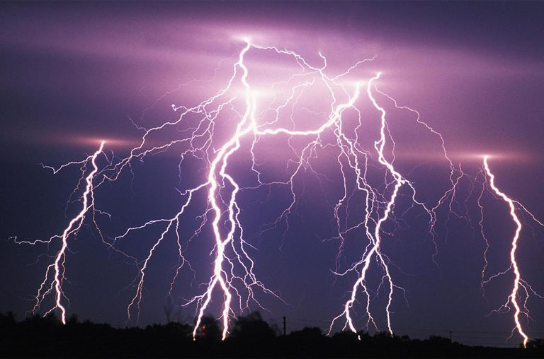 An illustration of Lightening strike. (PHOTO/File)