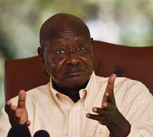 Parliamentary Public Accounts Committee investigates President Museveni's  Shs19M salary advance. (FILE PHOTO)