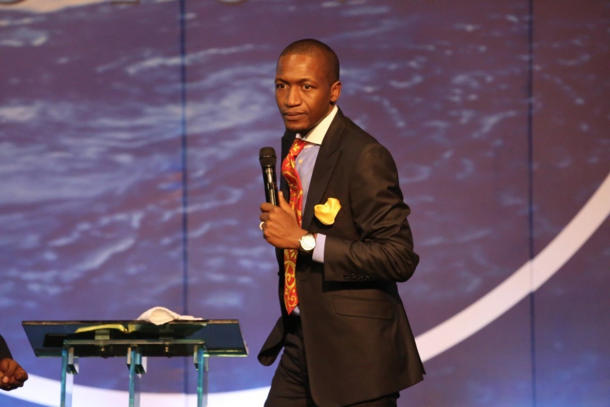 Prophet Uebert Angel during one of his preaching sessions (PHOTO/Courtesy )