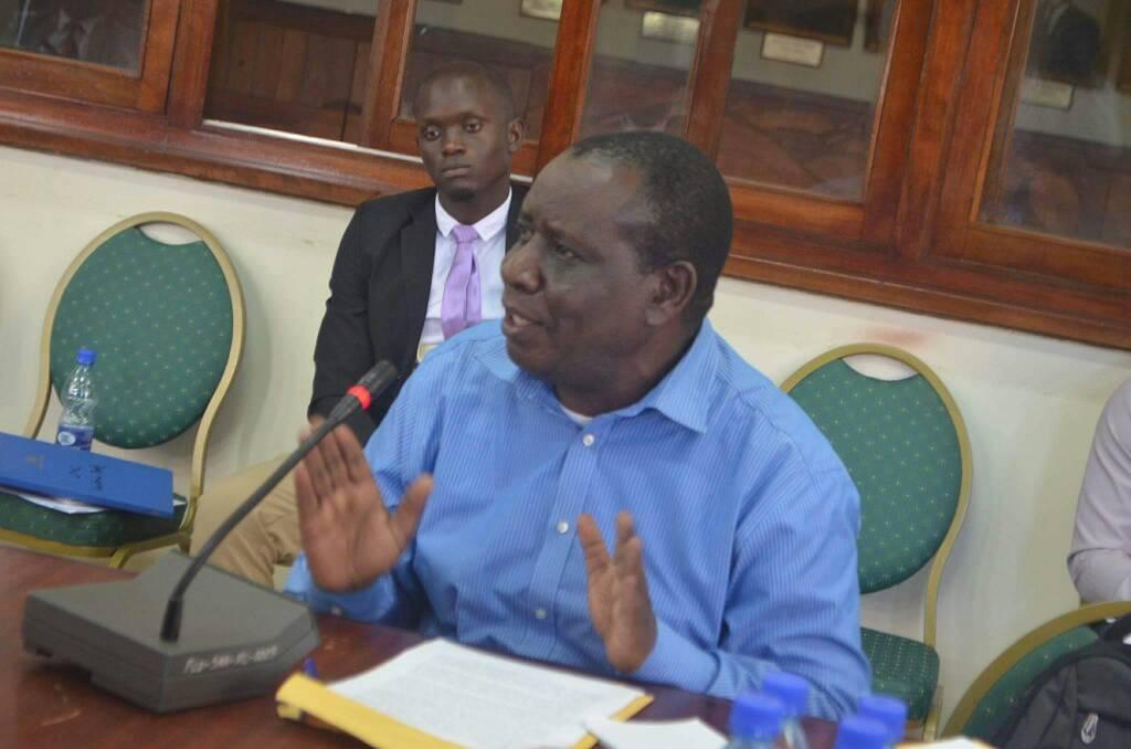 Prof Mwambusya Ndebesa is renown historian an Makerere University (PHOTO/File)