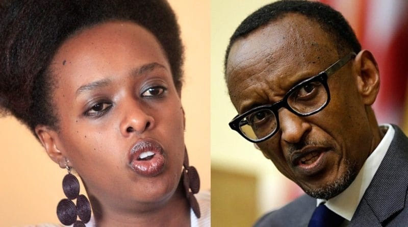 Diane Rwigara wrote a letter to Rwanda President Paul Kagame citing oppression of the opposition by state organs. (PHOTO/File)