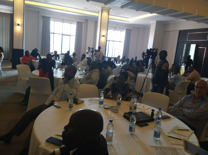 Stakeholders gather at Mestil Hotel in Nsambya for the workshop on drones. (PHOTO/Javira Ssebwami)