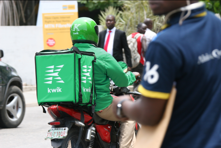 Last-mile delivery in Nigeria : the French Start-up Kwik is taking the market by storm. (PHOTO/Courtesy)