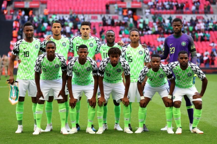 Nigeria are into the AFCON 2019 last 4. (PHOTO/Courtesy)