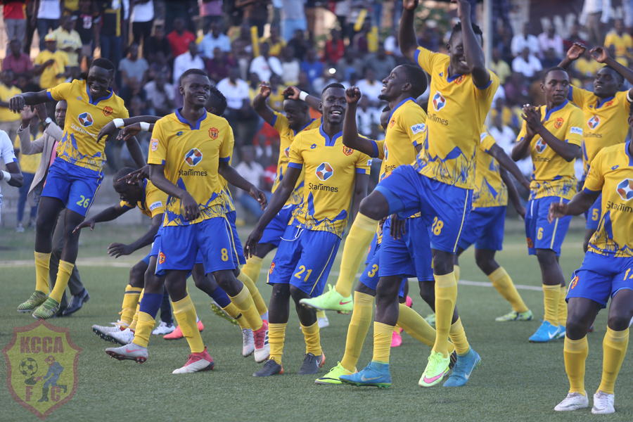 KCCA FC are the reigning champions of the StarTimes Uganda Premier League. (PHOTOS/Agencies)