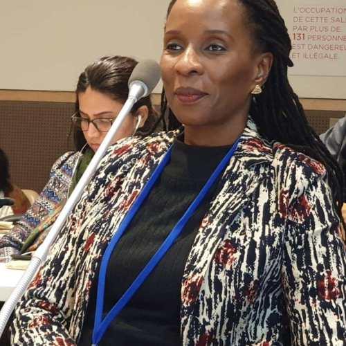 Director of Information & Communication, African Union, Leslie Richer. (PHOTO/AU)