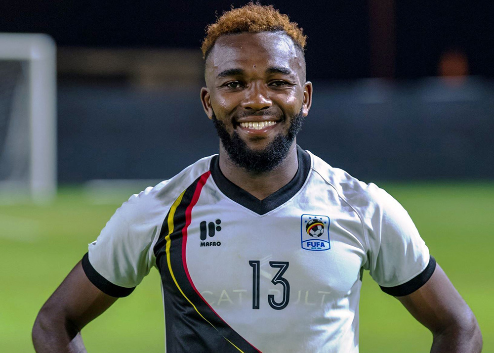 Lumala rose to prominace at the AFCON 2019. (PHOTO/Courtesy)