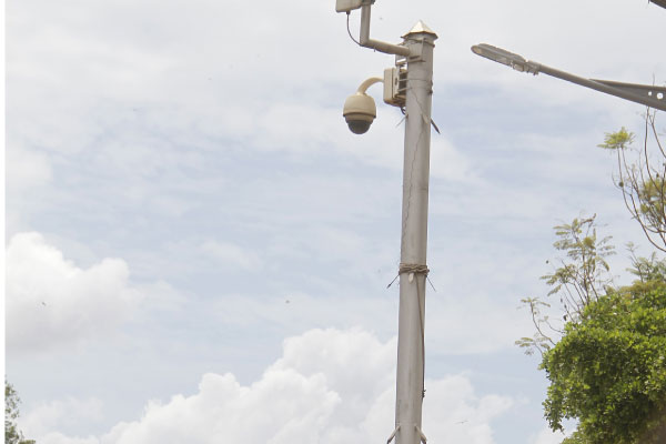 CCTV cameras recently installed in Kampala.(FILE PHOTO)