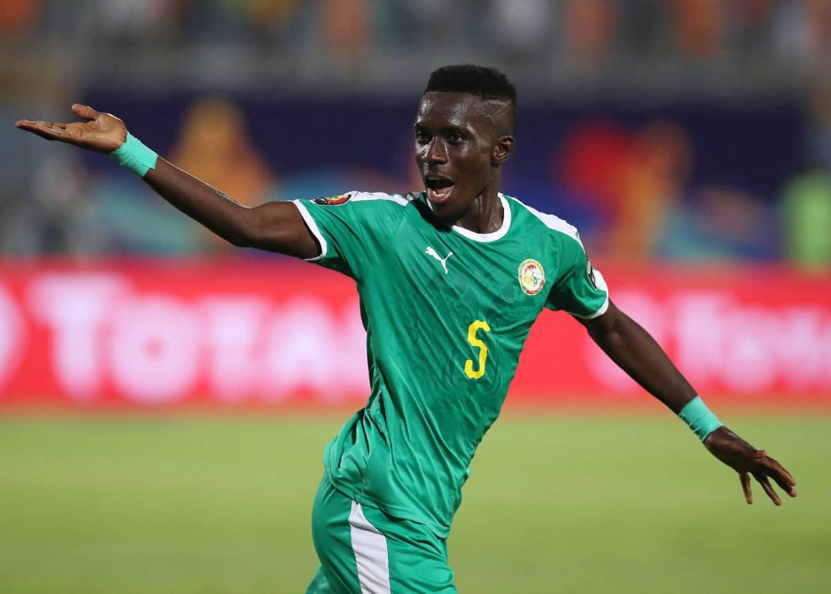 Gana celebrates scoring the winning goal against Benin on Wednesday. (PHOTO/Agency)
