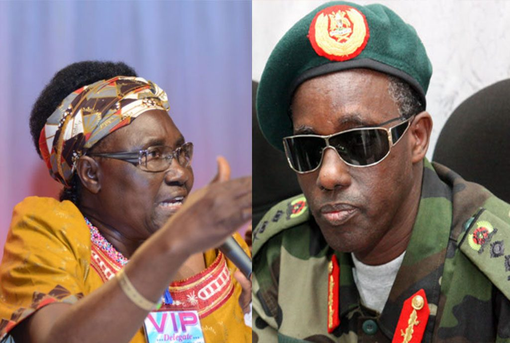 Minister of Security, Gen Elly Tumwine