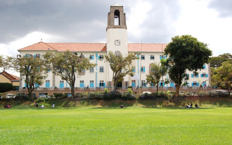 Makerere University main builiding. (PHOTO/File)