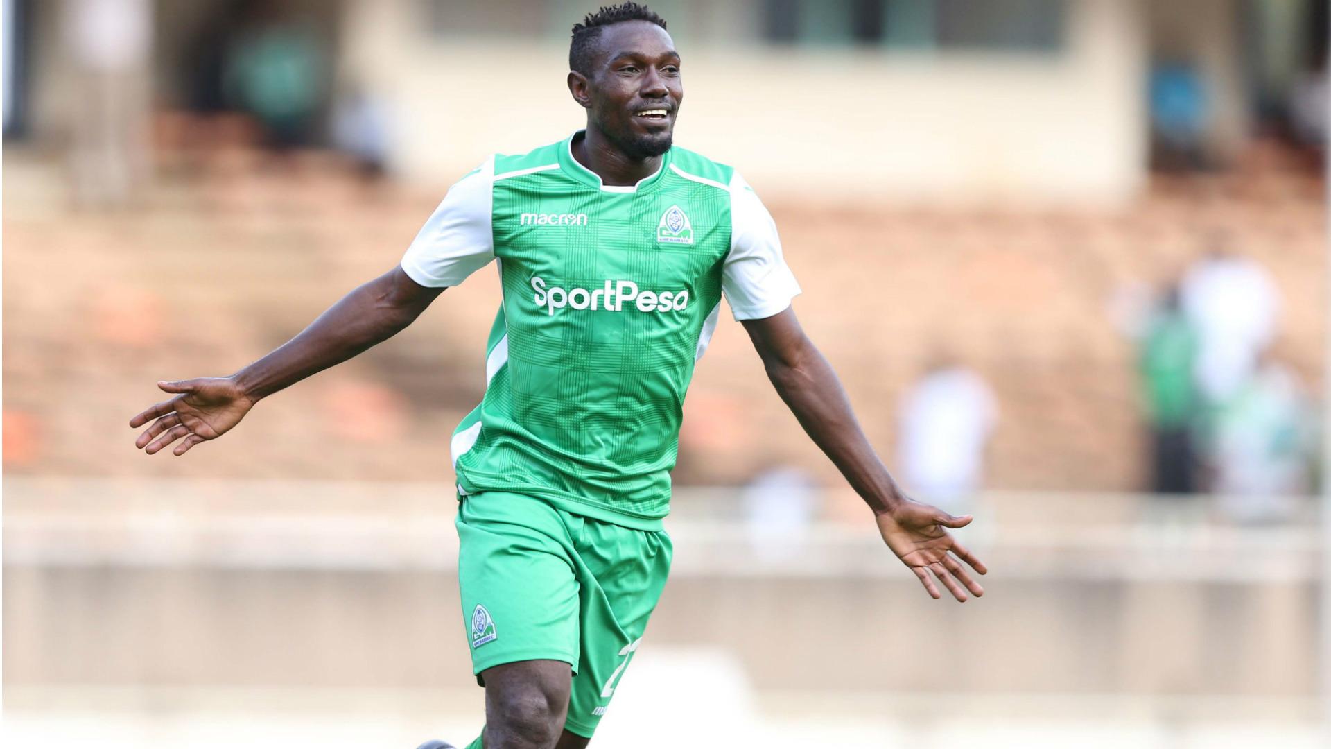 Ssekisambu scored five goals for Gor Mahia, last season. (PHOTOS/Courtesy)