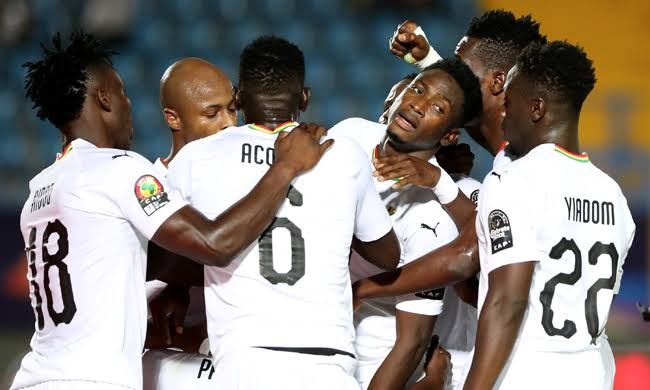 Ghana finish top of Group F on goals scored. (PHOTOS/Agencies)