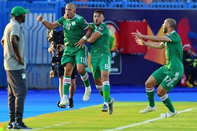 Algeria are yet to lose a game at AFCON 2019. (PHOTO/Courtesy)