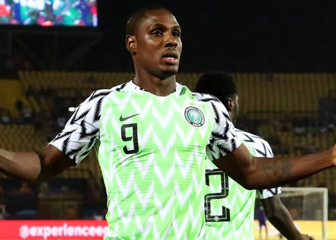 Ighalo finished as the tournament's top scorer.