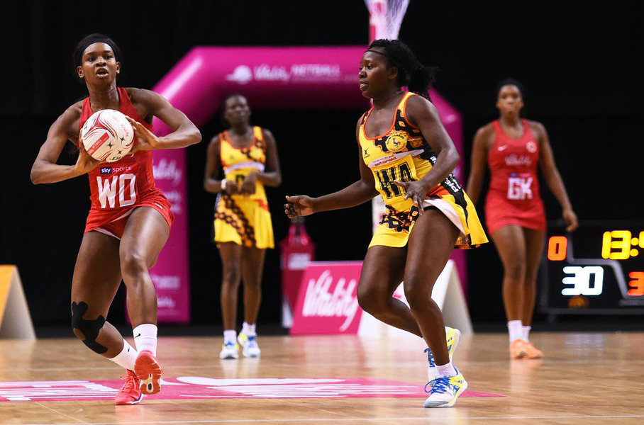 The She Cranes finished 7th at the Netball World Cup.([PHOTO/Agencies)
