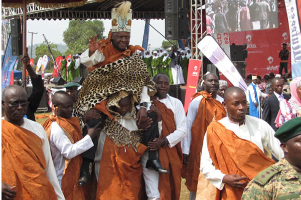 Majesty Kabaka Ronald Muwenda Mutebi at reaching his 25th Coronation.