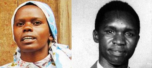 The death-wish cult leaders, Credonia Mwerinde and Joseph Kibwetere. (PHOTO/Archives)