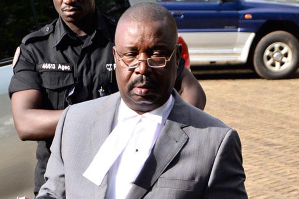 Deputy AG. Mr Mwesigwa Rukutana.