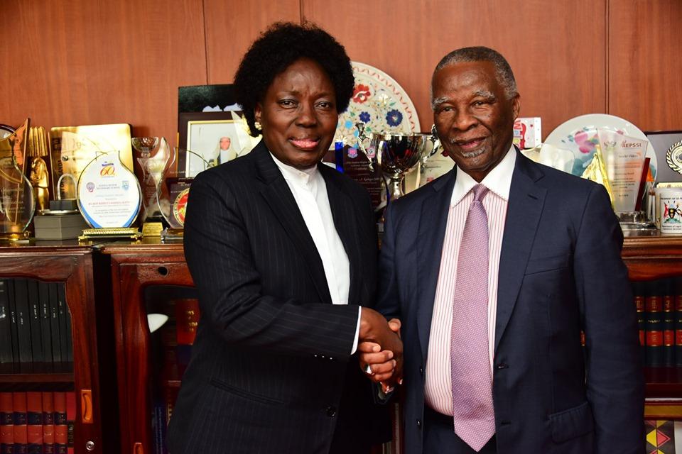 South Africa's former President, Thabo Mbeki