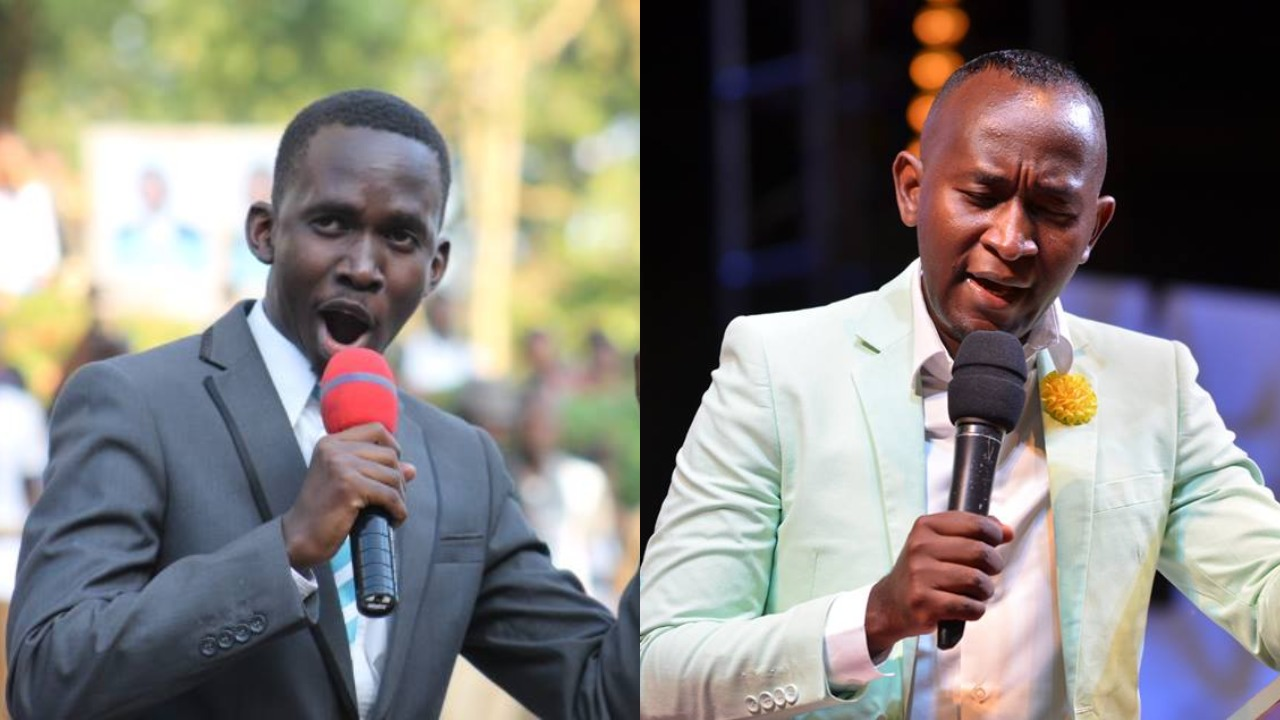 Mr Simon Ssenyonga, 25, who calls himself Watchman ministries Prophet Mbonye's spiritual son, has pledge UGX1Bn citing Sowing the prophetic seed . (PHOTO/PML Daily Montage)